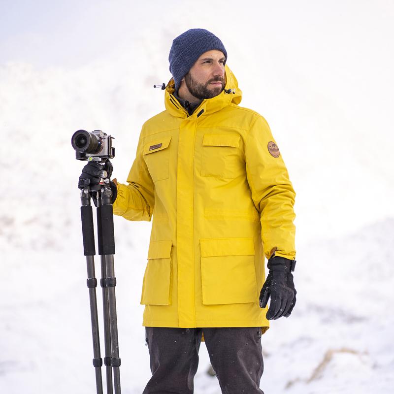 00a85577649e9c Haukland Explorer 5 in 1 Jacke für Fotografen - Gelb - Haukland